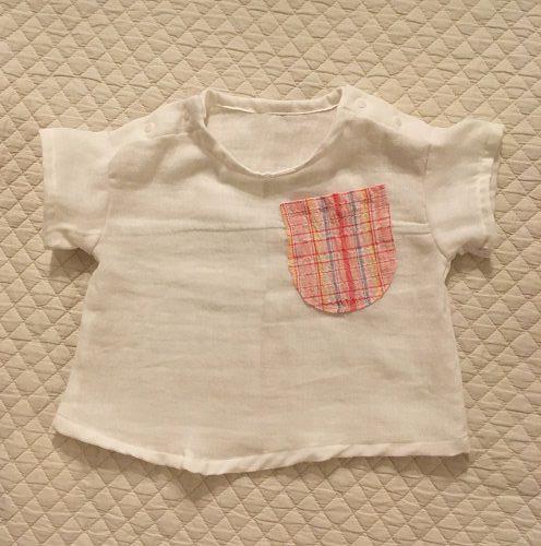 ダブルガーゼとリップル生地で「夏用ベビーパジャマ」を作ってみた!